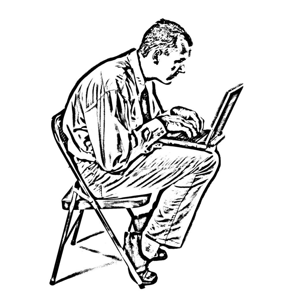 Bild 1 Bandscheibenvorfall und Rückenschmerz, Muskeln stärken und Dehnen statt sitzen