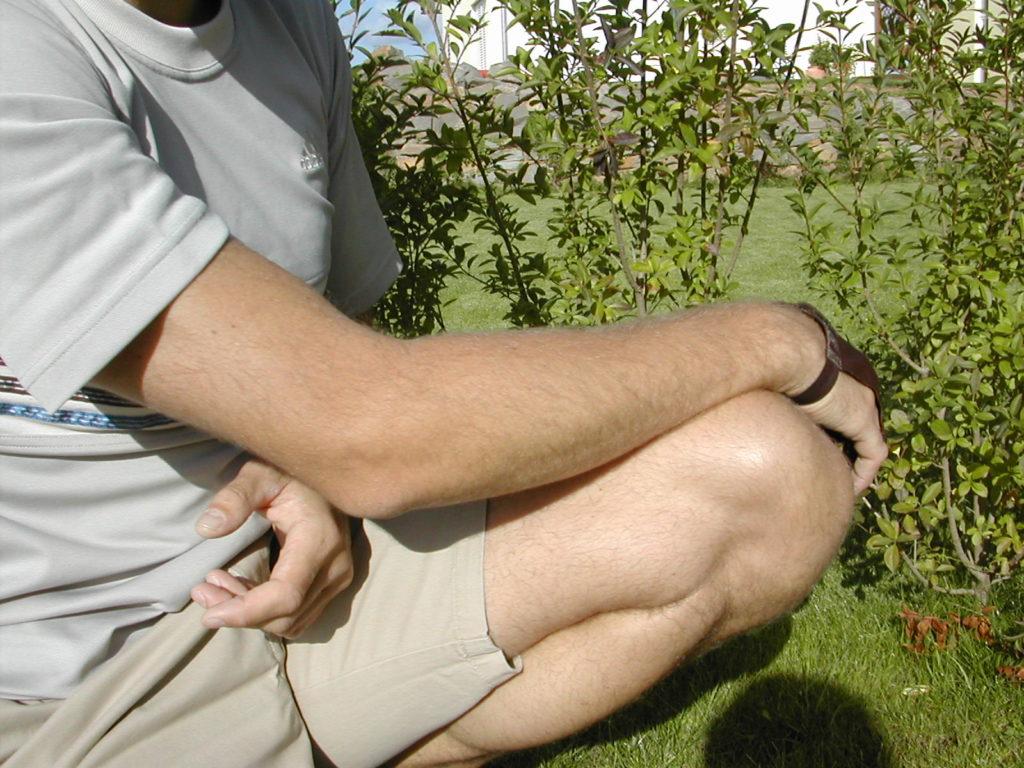 Entspannter Arm, dünner Muskel,, Leistung langfristig möglich, gegen Schmerzen