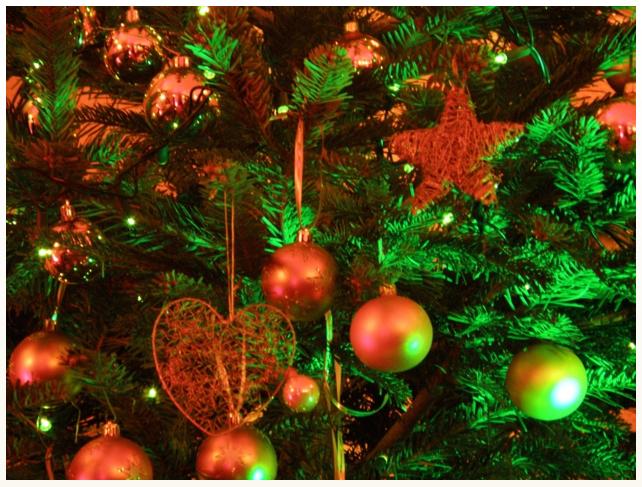 Weihnachten mit Ruhe und Besinnung. Wenig Schmerzen, viel Erholung im Rückblick